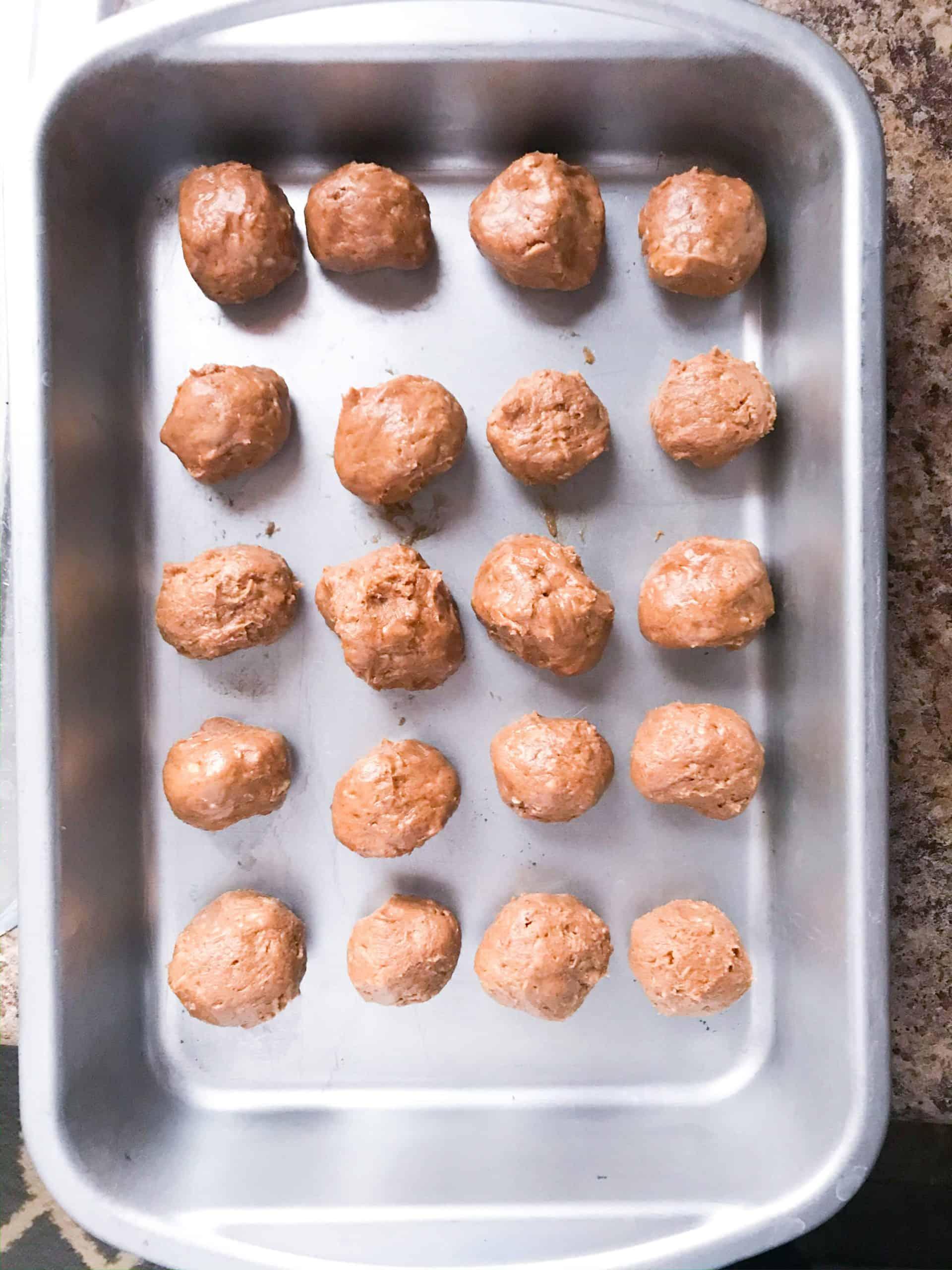 Easy Crunchy Protein Balls