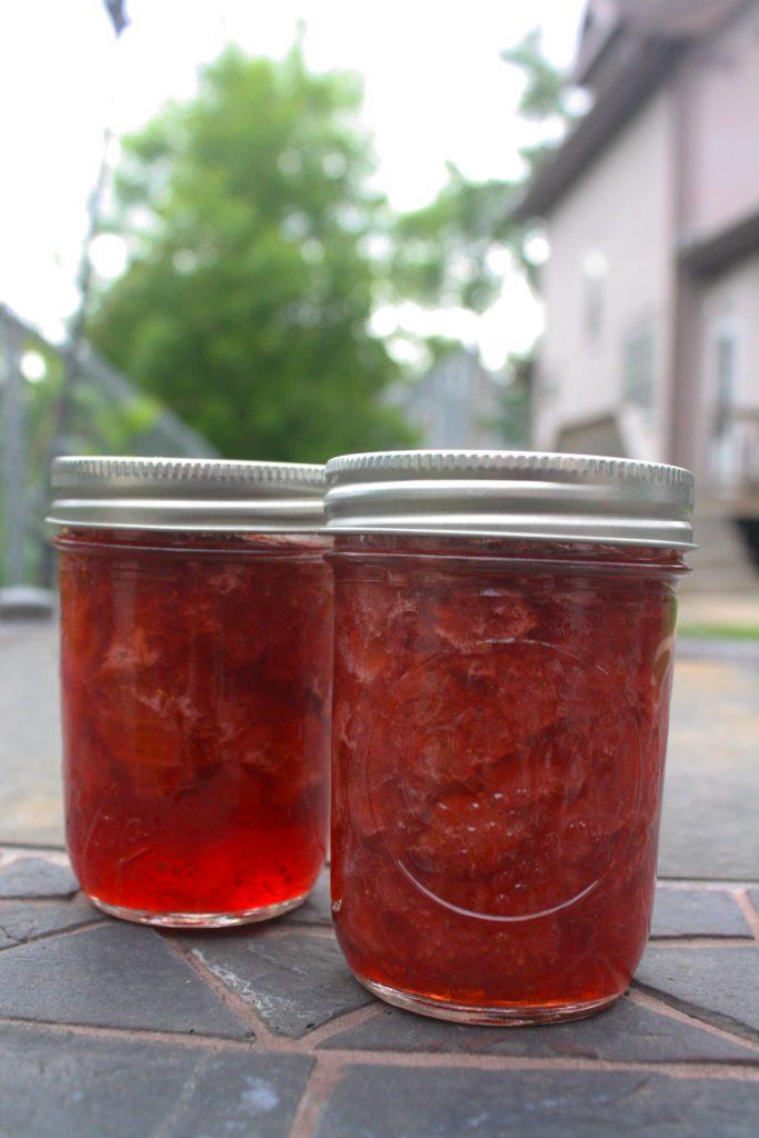 Four Ingredient Strawberry Jelly