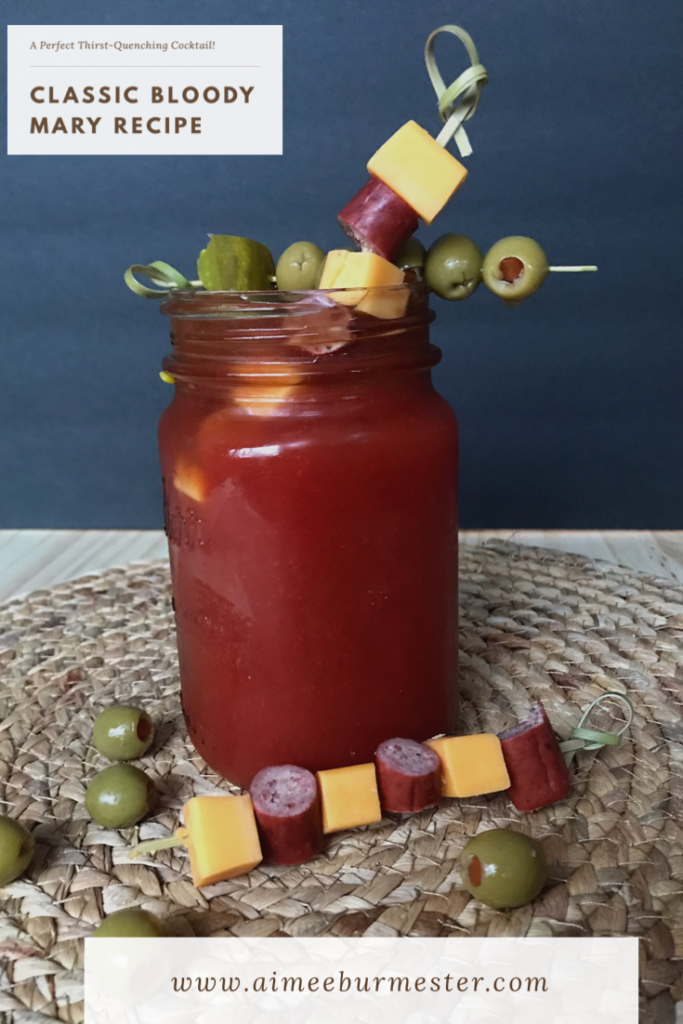 A classic Bloody Mary Recipe