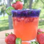 Spicy Strawberry-Jalepeno Margarita