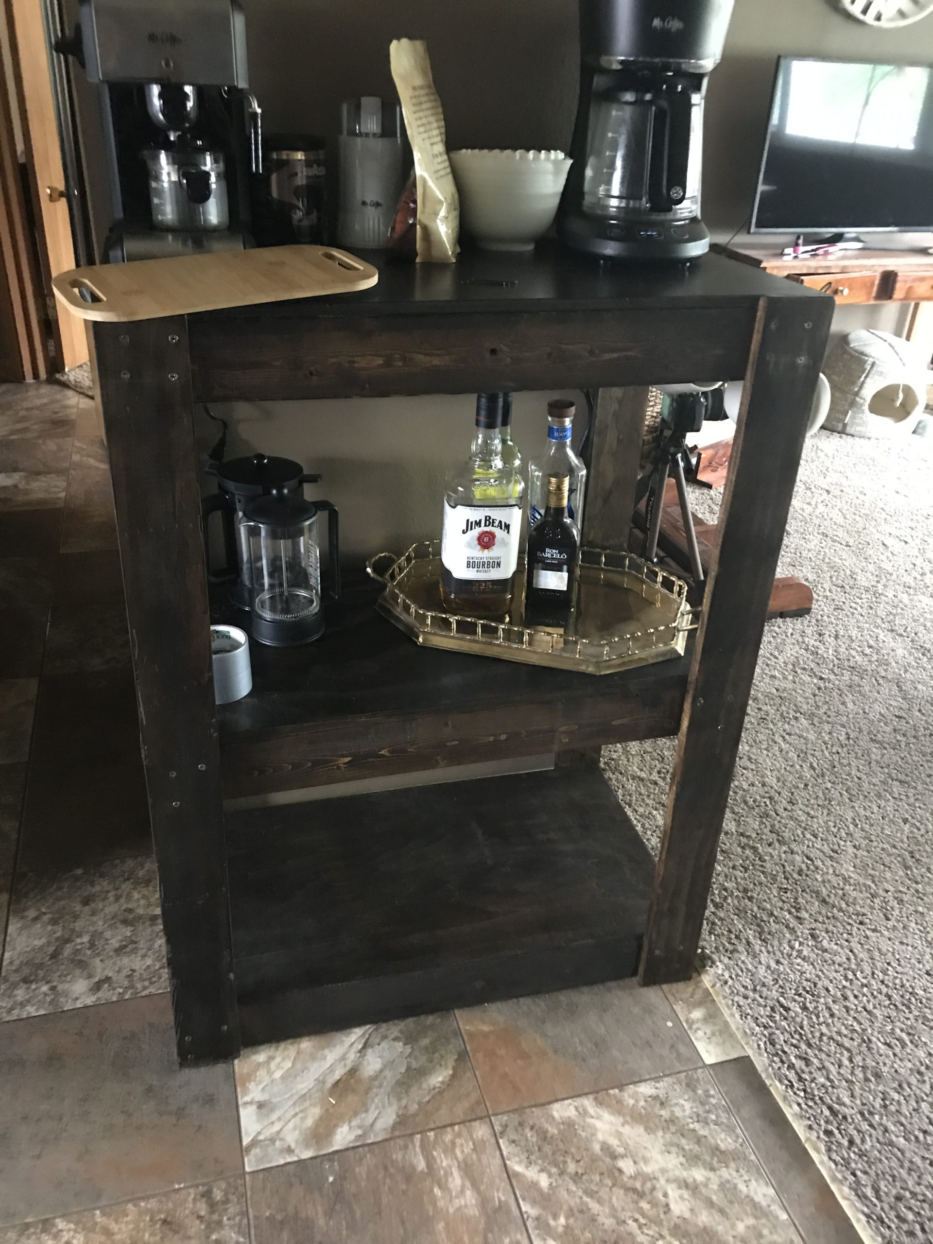 Building a Boozy Coffee Bar