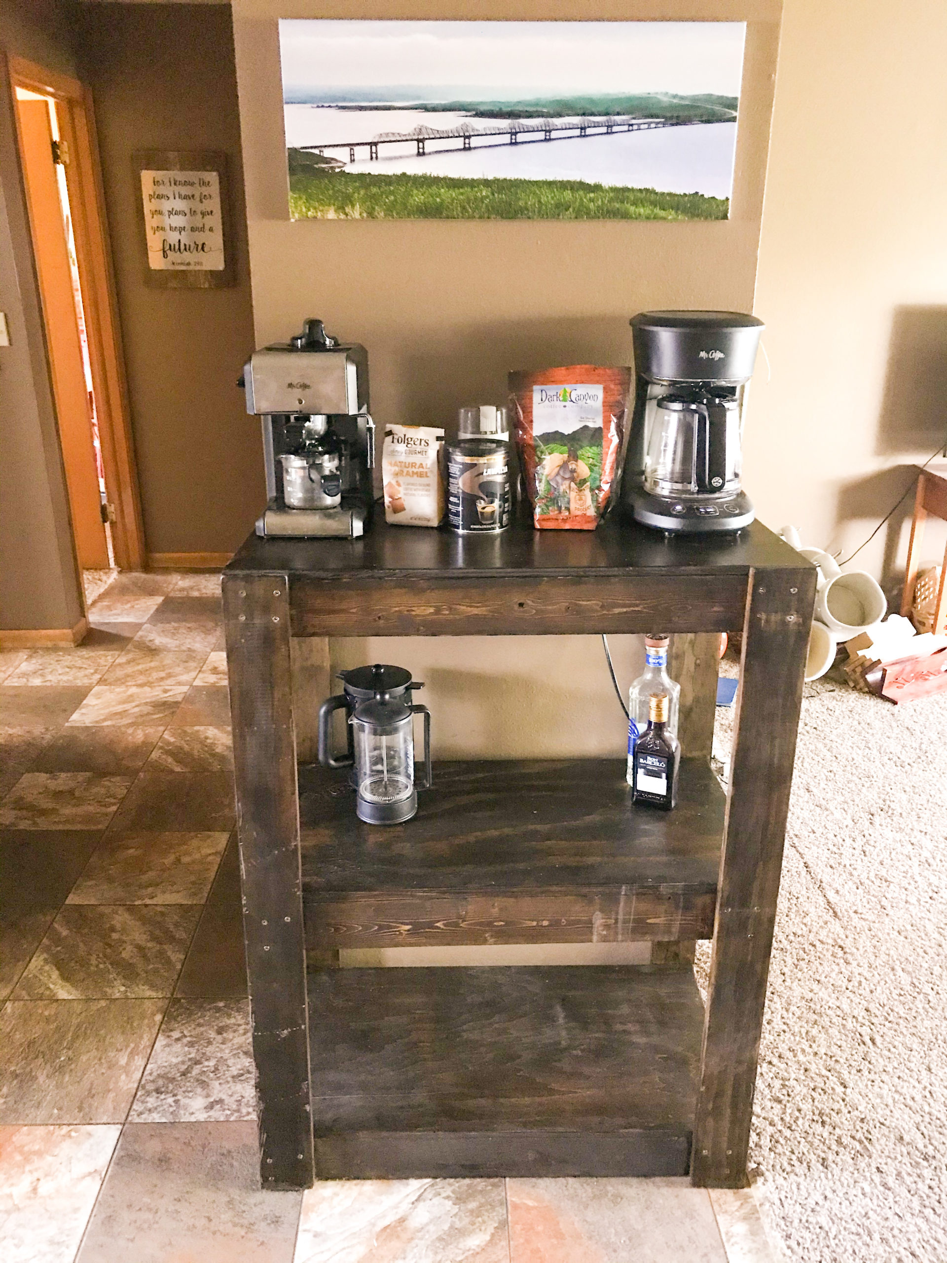Building a Boozy Bar Cart