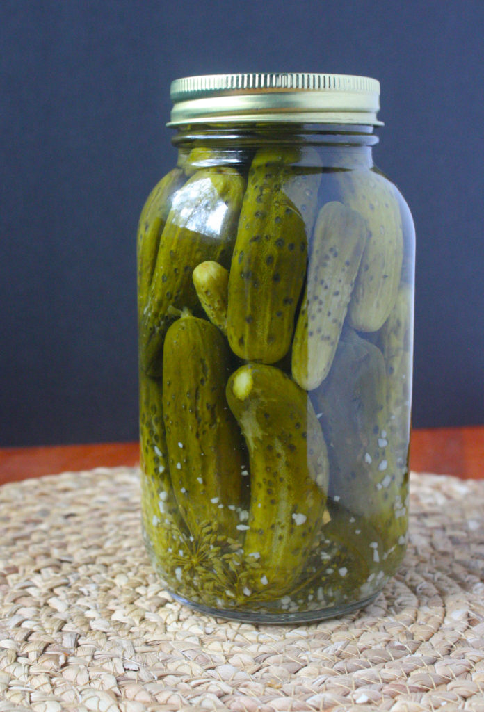 How to Make Crunchy Dill Pickles