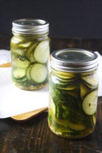 Quick & Easy Small Batch Dill Pickle Recipe
