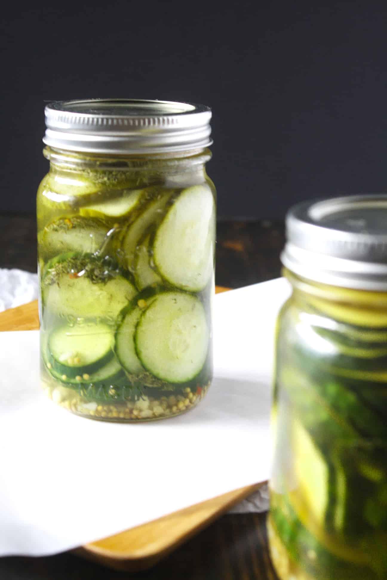 Small Batch Dill Pickle Recipe