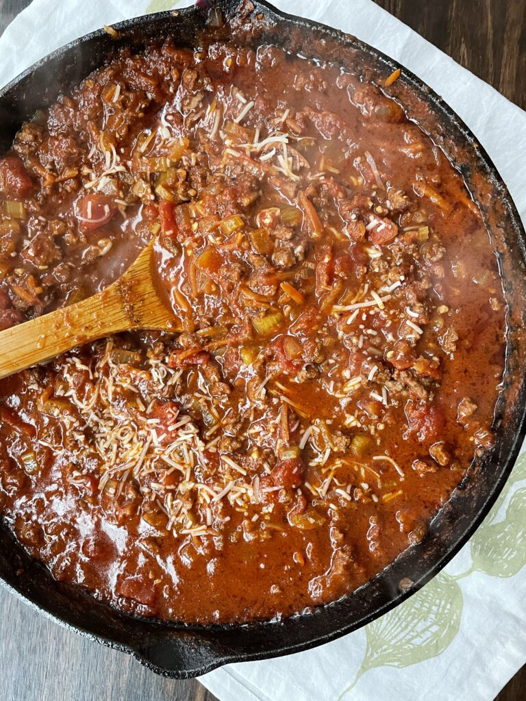 Quick and Easy Bolognese Sauce
